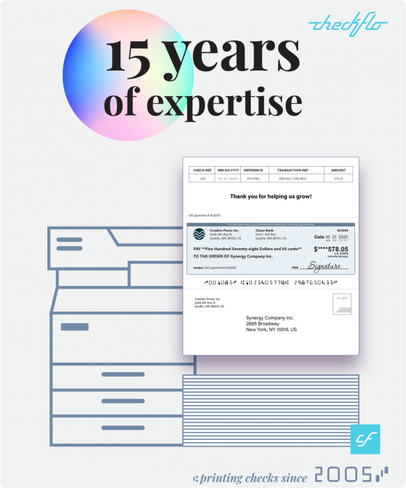 Checkflo 15 years of expertise